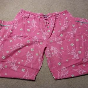 Bambi Ladies lounge pants Disney size large